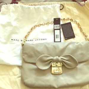 Marc jacobs bow clutch/shoulder bag